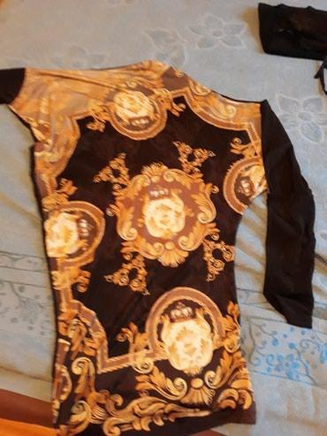 Haljina tunika uni vel prelepa nova jednom nosena turska marka Tatu - Crvenka