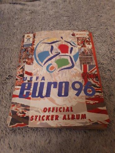 Ostalo | Backa Topola: Album sa sličicama fudbalera - EURO 96 ENGLESKA