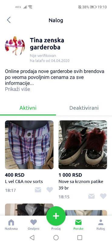 Zenske stvari - Srbija: PREVARANT!TINA ZENSKA GARDEROBANavodno prodaje nove stvari a posalje
