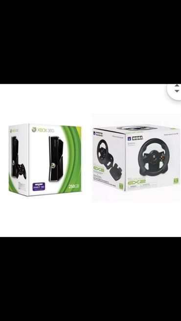 Видеоигры и приставки - Кара-Суу: Срочьно!!! Хвох 360 жана Hori 2 оюн приставкасы комплекти менен сатыла