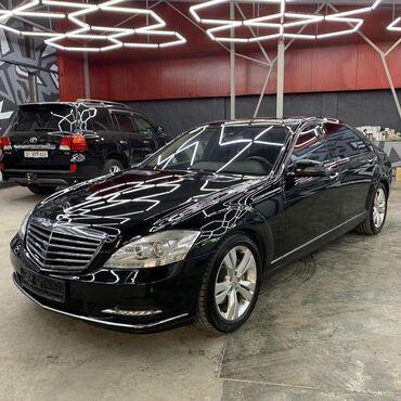 купить бус в рассрочку в Кыргызстан: Mercedes-Benz S-Class 5.5 л. 2010 | 28000 км