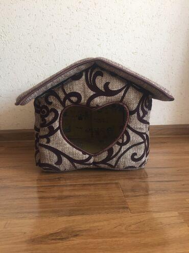 Продаю домик для котика или маленькой собачки. Крыша отстёгивается пол