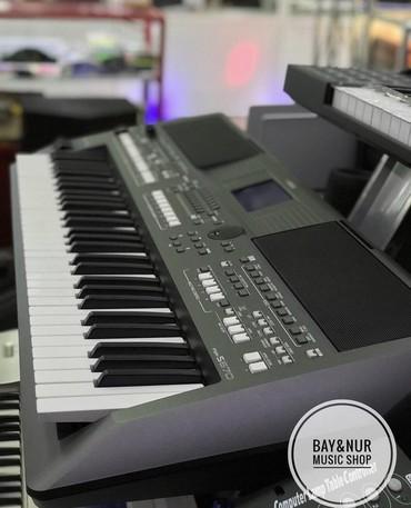 Синтезаторы в Кыргызстан: Синтезатор PSR S-670 встроенная акустикаКлавиш:61