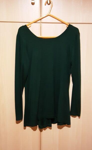 Μπλούζα, size M, χρώμα : σκούρο πράσινο, ολοκαίνουρια.Ο φιόγκος πάει