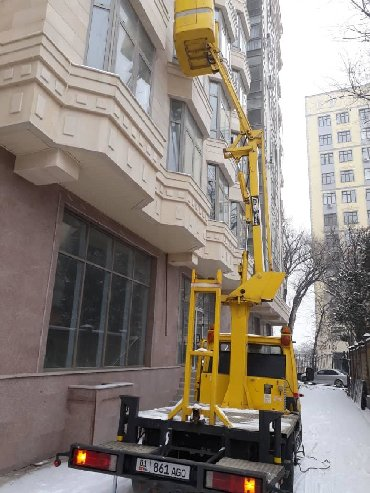 Другие услуги - Кыргызстан: Услуги Автовышки.ЗВОНИТЕ НА НОМЕР ВОДИТЕЛЮ 0-702-01-05-01.Высота на 10