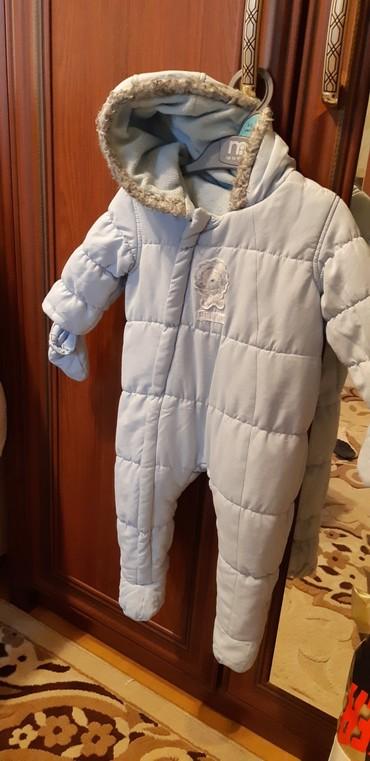 весенние комбинезоны для новорожденных в Азербайджан: Комбинезон на мальчика. до 9месяцев