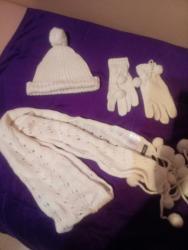 Ostala ženska odeća | Srbija: Kapa, sal i rukavice, komplet Mexx