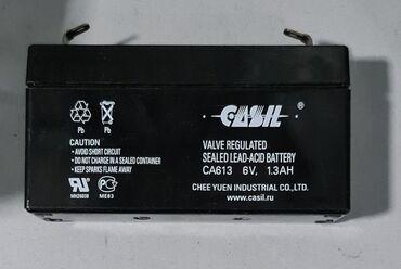 Аккумуляторная батарейка 6 V 1.3 AH