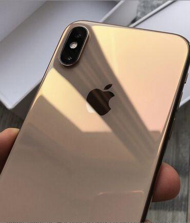 Apple Iphone - Состояние: Б/У - Бишкек: Б/У iPhone Xs Max 256 ГБ Золотой