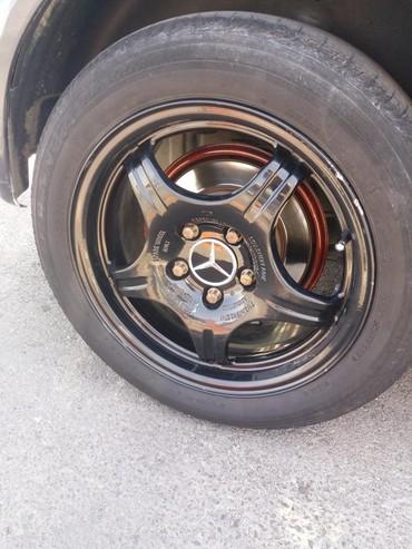 mercedes disk teker - Azərbaycan: Tep teze 1ayin disk tekerleri 4 eded 550 manata satiram.Mercedes den