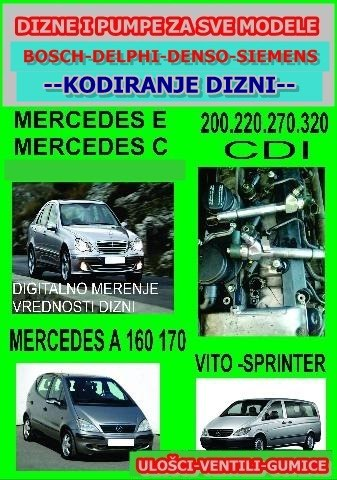 Dizne Mercedes CDI - Lajkovac
