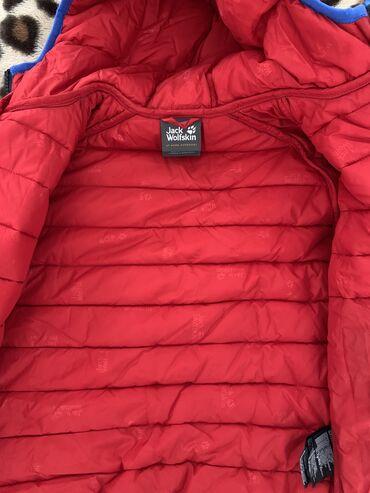 Куртка весна- осень Jack Wolfskin 128-130 в отличном состоянии