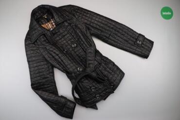 Жіноча куртка з паском Miss X, р. L    Довжина: 71 см Ширина плеча: 41