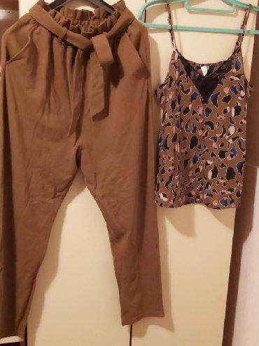 | Surdulica: SOliver, 1800 dinara u kompletu, pantalone br 32, majica 34
