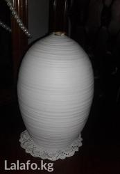 Ваза керамика-оригинально (кокон). в Бишкек