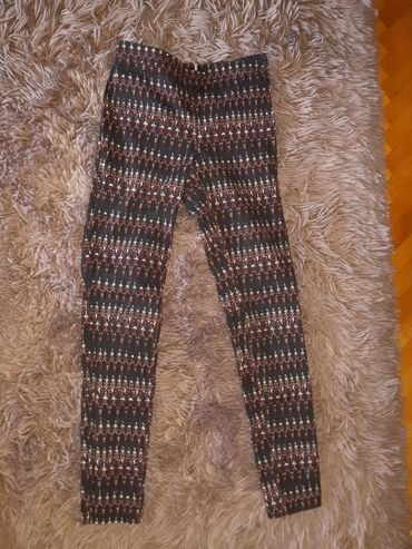 Korset sa - Srbija: Pantalone sa visokim strukom sa zakopčavanjem sa strane