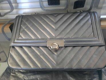Nova monina torba,srebrne boje