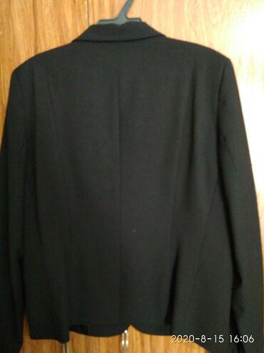 Продаю женский пиджак. Цвет черный, размер 48. Б/у. Покупала в LC Wiki