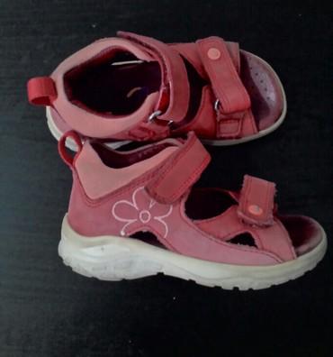 спортивную обувь ecco в Кыргызстан: Сандалии на девочку фирмы ECCO на липучках, 23 размер, легкие, очень