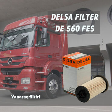 багажник на крышу мерседес спринтер в Азербайджан: Delsa yanacaq filter de 560 fesyanacaq filtiri: mercedes axor