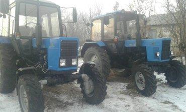 Продаю 2 трактора МТЗ-82,1 с Беларуси. Отл. сост. 2000г и 2008г. в Бишкек