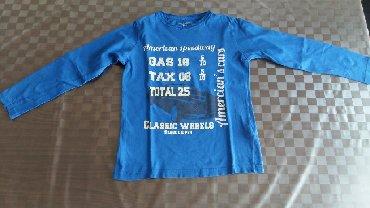 Dug rukav pamuk - Srbija: Majica za dečake dug rukav vel. 8god.Polovna,100% pamuk,kupljena u Fr