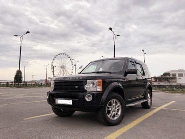 Bakı şəhərində Land Rover Discovery 2007