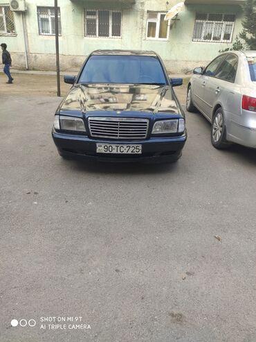 avto mübadiləsi - Azərbaycan: Mercedes-Benz C 180 1.8 l. 1998 | 521100 km