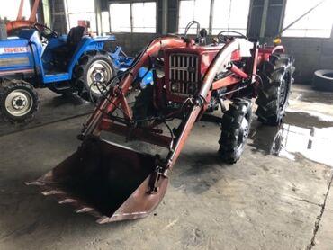 т 25 купить в Кыргызстан: Трактор с ковшей (Погрузчиком) мини трактор Японский 25 л.с, дизель, 4
