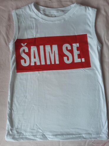 Pamučne ŠAIM SE majice bez rukava, veličine od 8-16