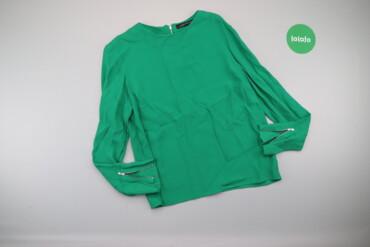 Жіноча блуза з довгим рукавом Zara, р. XS   Довжина: 58 см Ширина плеч