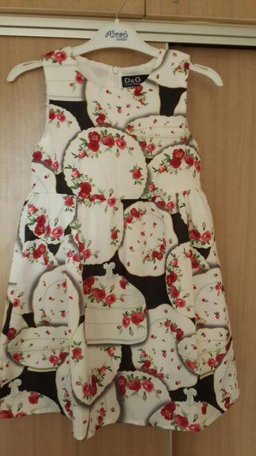 Платье 4 - 6 лет. 6мкр