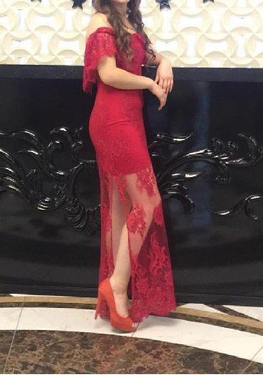 гипюр платье в Кыргызстан: Платье вечернее Ткань гипюр Сшито на заказ (дорого) Одевала 1 раз Прод