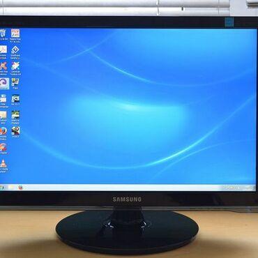 Мониторы - Кыргызстан: Samsung 2253lw22дюйма 1680х1050Внешне Состояние хорошее .Работают без