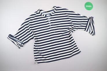 Жіноча блуза у смужку Oodji, p. XS    Довжина: 61 см Рукав: 44 см Напі