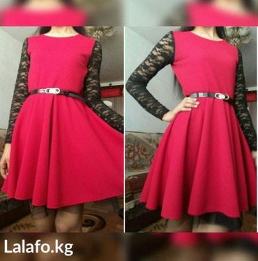 (Сокулук) Платье состояние новой вещи. размер с -м Ооочень красивое