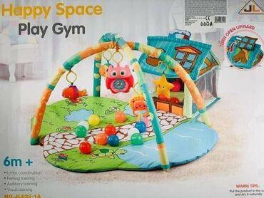 Gimnastika i zabava u jednom proizvodu Cena 4090 dinara Bebi podloga