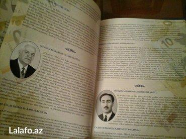 Bakı şəhərində Azerbaycan iqtisadcilati. Kitab iri olcudedir. Cox seliqeli ve zovqle - şəkil 2