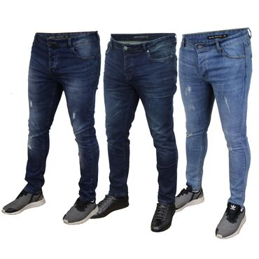 Farmerice-denim-collection - Srbija: Gaćaste SLIM FIT DENIM vel.32 Original