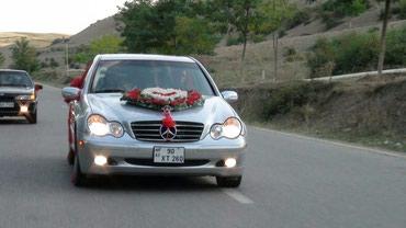 Qusar şəhərində Mercedes-Benz C 240 2000