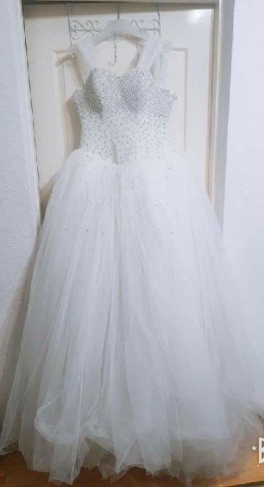 Продаётся свадебное платье, не новое, но в состоянии отличном.•