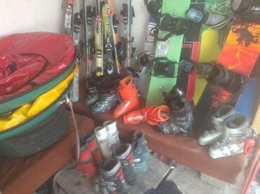 Лыжи - Кыргызстан: Продаю горные лыжи сноуборды разные модели и растовки + what s app