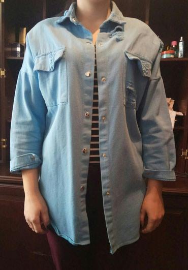 Продаю джинсовку разлетайка размер 44 46..состояние хорошее в Бишкек