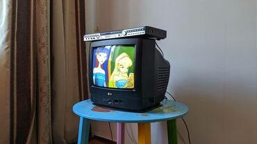 телевизор lg чёрный в Кыргызстан: Телевизор LG (корея) + двд бесплатно Показывает супер В отличном