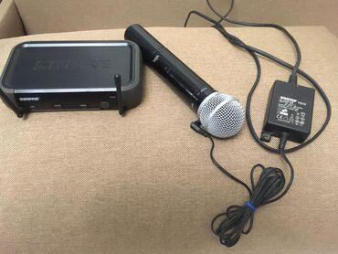 гитарный микрофон в Азербайджан: Shure pgx24/sm58. как новый . привезён из москвы. оригинал