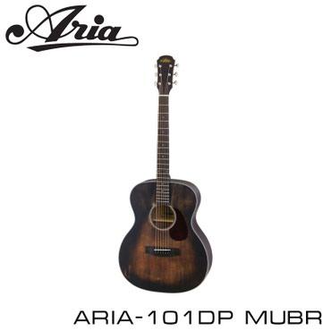 ГИТАРААкустическая шестиструнная гитара ARIA-101DP MUBR входит в серию