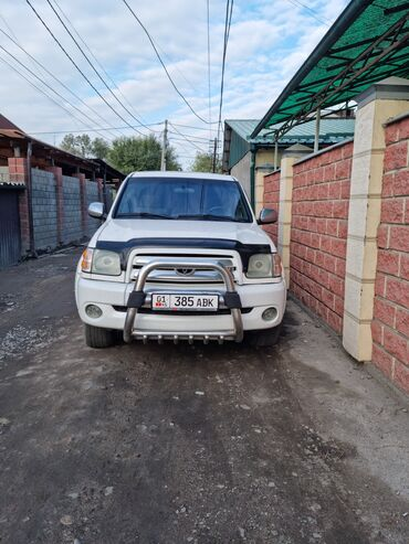 купить тойота хайлендер в бишкеке in Кыргызстан   АВТОЗАПЧАСТИ: Toyota Tundra 4.7 л. 2004   340000 км