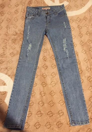 джинсы хорошего качества в Кыргызстан: Продаю джинсы хорошего качества, размер s, цена 50 сом