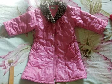 Продаю плащ-пальто на девочку 3-5 лет. в хорошем состоянии. в Бишкек