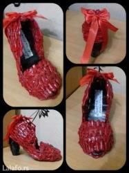 Pepeljugina cipelica    kao poklon za dan zaljubljenih ili 8. Mart - Krusevac